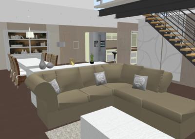Aménagement et décoration d'un espace de vie