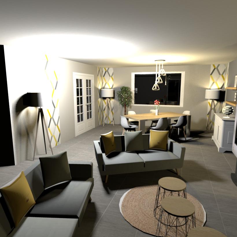 s jour scandinave d coratrice d 39 int rieur ma d co de f e. Black Bedroom Furniture Sets. Home Design Ideas