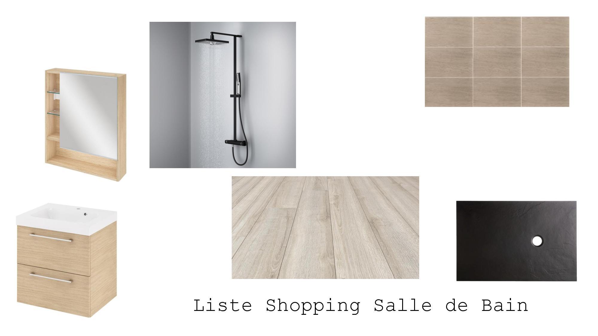 Liste shopping industrielle