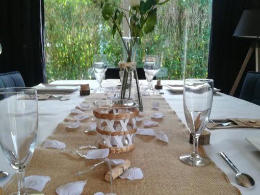 Table anniversaire de mariage